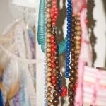 Bunte Perlenketten