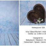 028 Blaue Blumen
