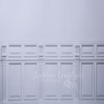 Hintergrund Wand mit Holzpaneelen