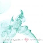 Rauchfigur türkisfarbener Stier
