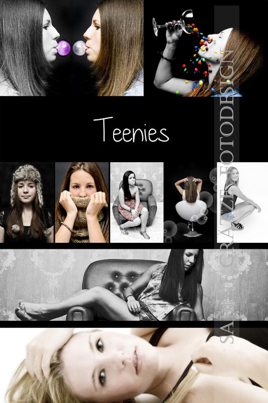 Teenies Deckblatt Fotomappe