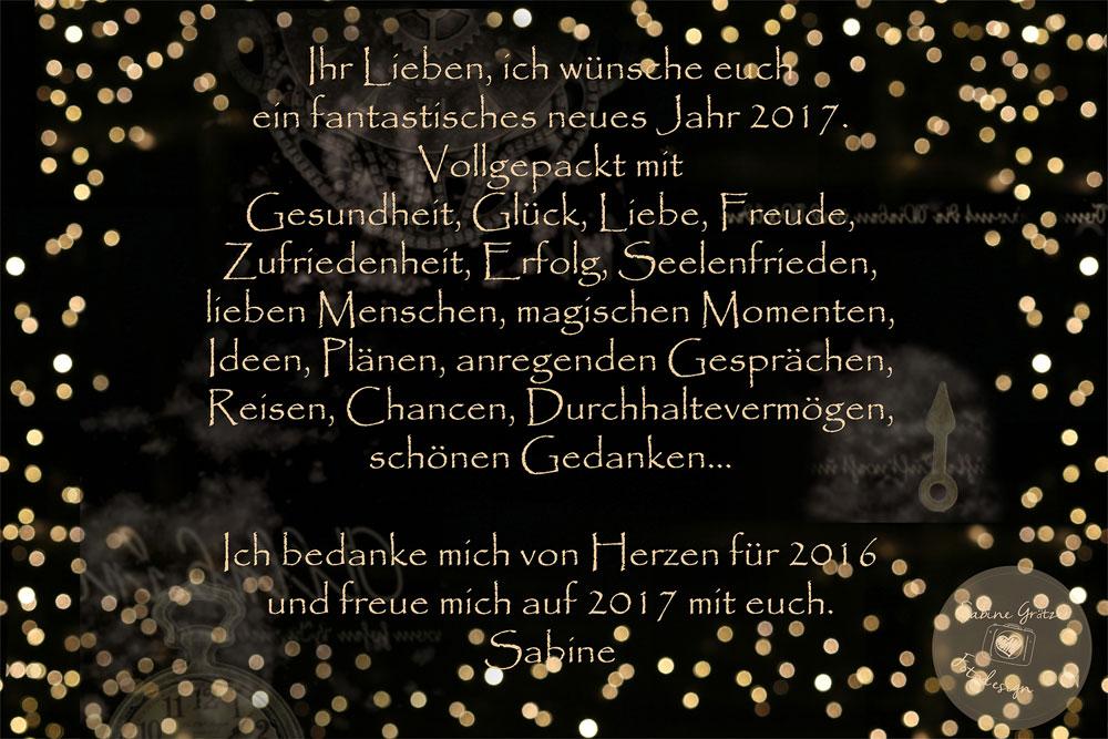 Frohes neues Jahr! | Sabine Grätzer - Fotodesign - Kelsterbach