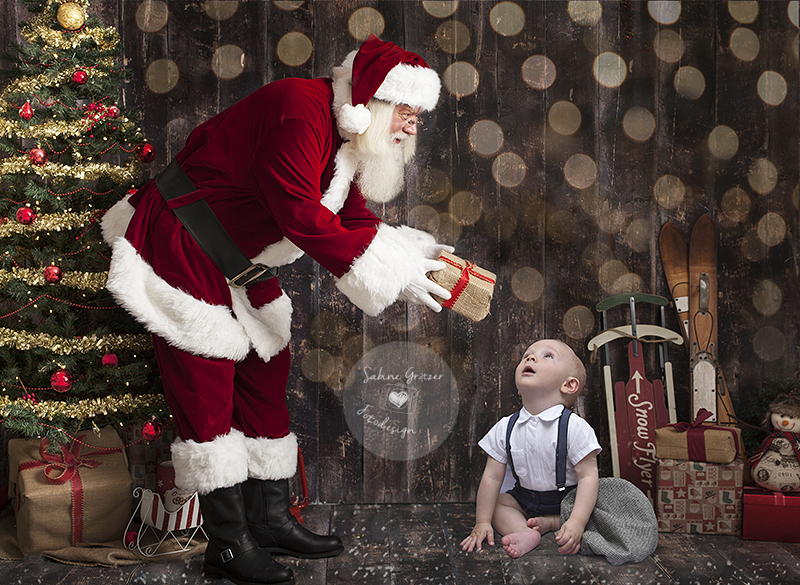 Weihnachtsmontage